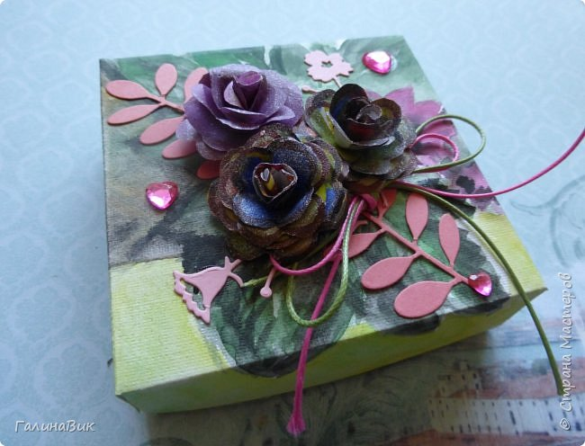 Всем добрый вечер! Предлагаю посмотреть коробочки для сладостей и самодельные цветы. Ниже привожу мини-МК таких цветов. фото 12
