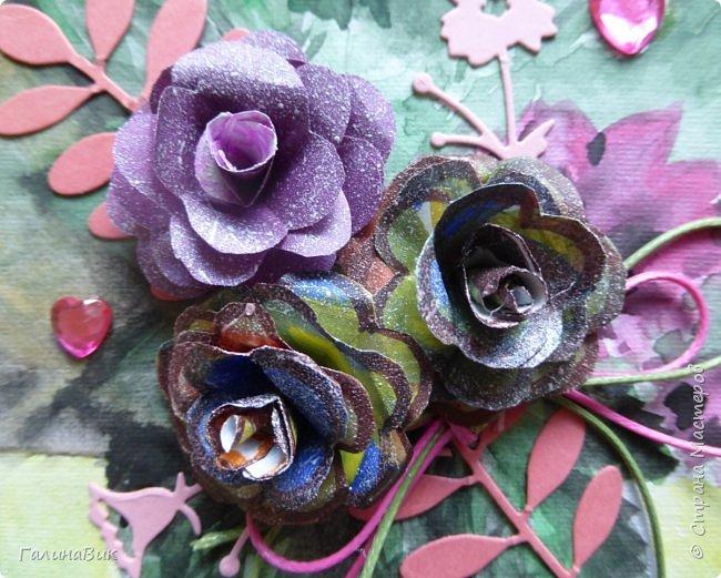 Всем добрый вечер! Предлагаю посмотреть коробочки для сладостей и самодельные цветы. Ниже привожу мини-МК таких цветов. фото 14