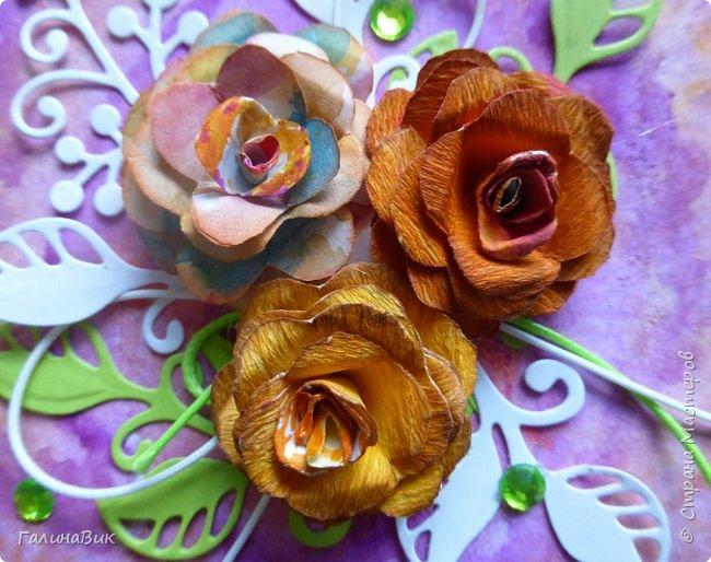 Всем добрый вечер! Предлагаю посмотреть коробочки для сладостей и самодельные цветы. Ниже привожу мини-МК таких цветов. фото 4