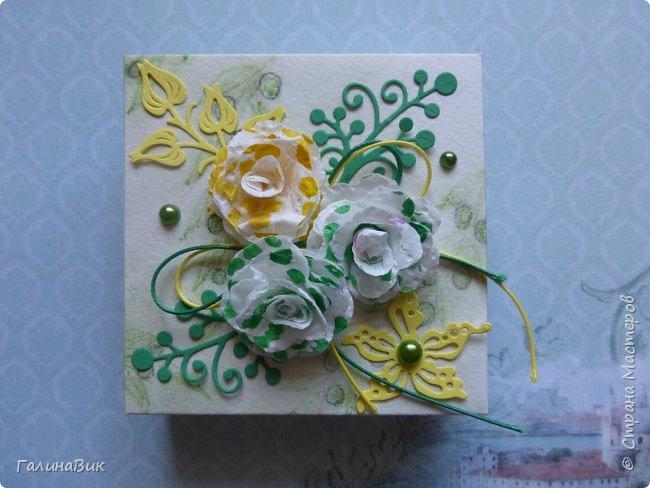 Всем добрый вечер! Предлагаю посмотреть коробочки для сладостей и самодельные цветы. Ниже привожу мини-МК таких цветов. фото 16