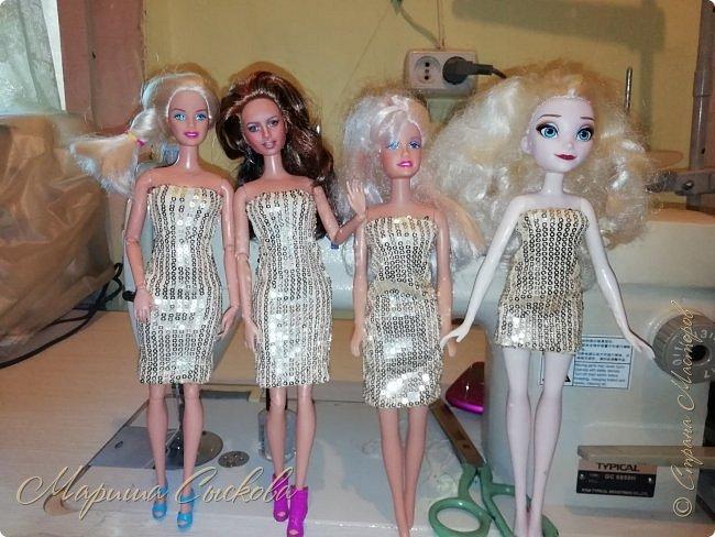 Ох , и намучилась я с платьем для Джей Ло !  Готовимся к Выставке и нужен наряд ! Фото чисто на телефон в процессе .) фото 12