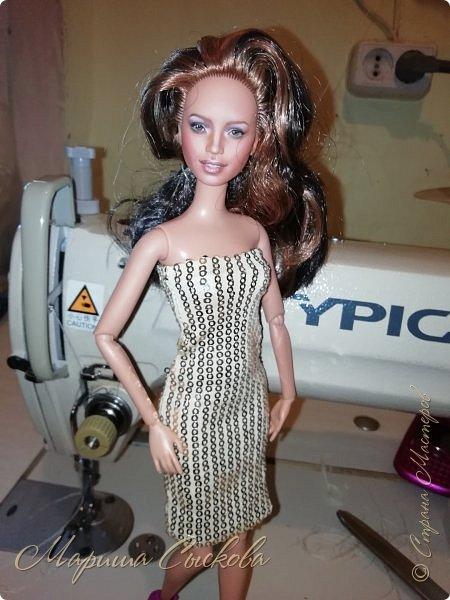Ох , и намучилась я с платьем для Джей Ло !  Готовимся к Выставке и нужен наряд ! Фото чисто на телефон в процессе .) фото 7