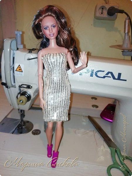 Ох , и намучилась я с платьем для Джей Ло !  Готовимся к Выставке и нужен наряд ! Фото чисто на телефон в процессе .) фото 1