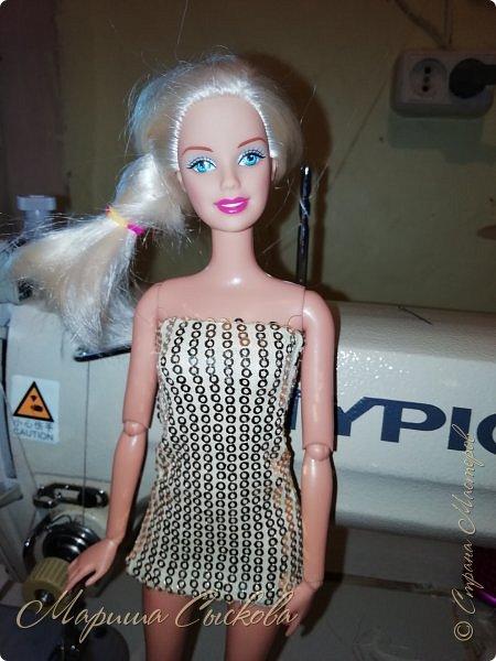 Ох , и намучилась я с платьем для Джей Ло !  Готовимся к Выставке и нужен наряд ! Фото чисто на телефон в процессе .) фото 2