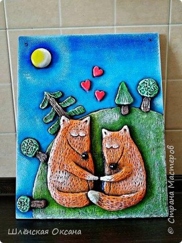 Наконец,то высохли мои толстые лисички.Картинку сделала по рисунку Тани Самошкиной.