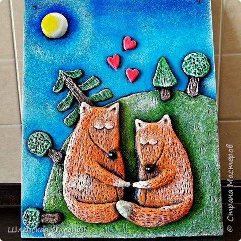 Наконец,то высохли мои толстые лисички.Картинку сделала по рисунку Тани Самошкиной. фото 2