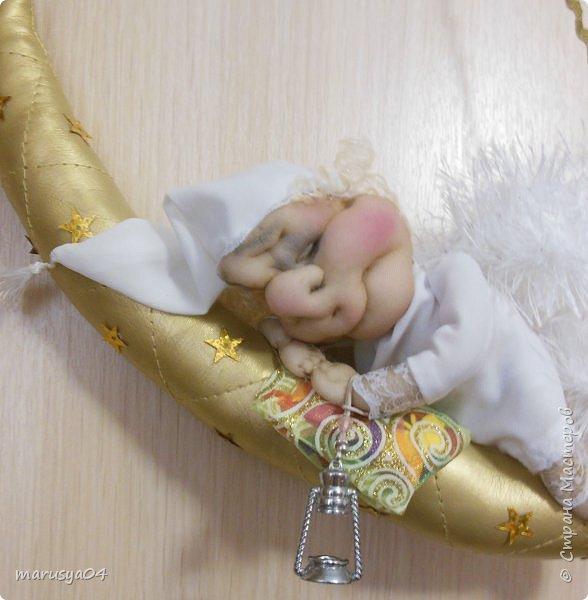 Родился племянник Витя, а у меня родился ангел-хранитель... сплюшка... Традиция уже такая))) фото 4