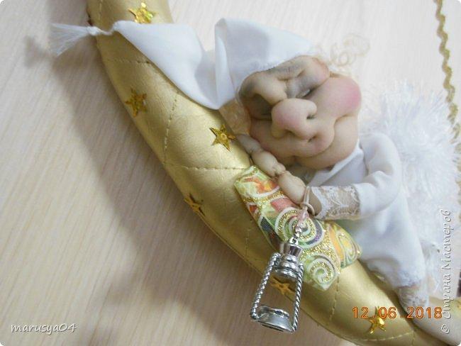 Родился племянник Витя, а у меня родился ангел-хранитель... сплюшка... Традиция уже такая))) фото 1