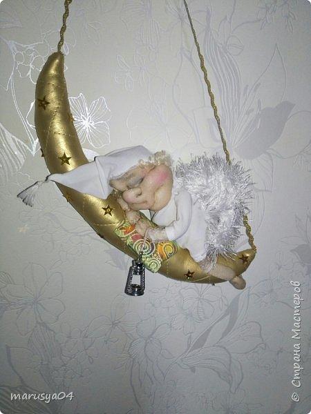 Родился племянник Витя, а у меня родился ангел-хранитель... сплюшка... Традиция уже такая))) фото 6