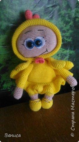 Кукла Бонни в костюме цыпленка