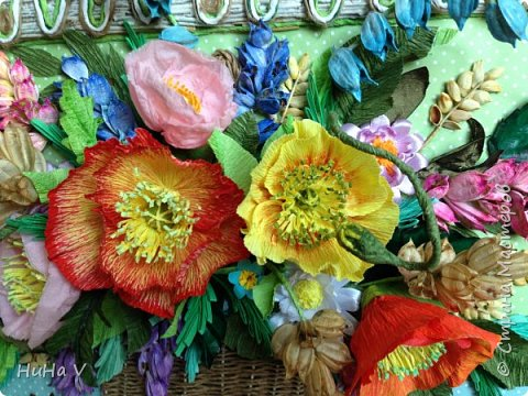 Корзинка с цветами  фото 7