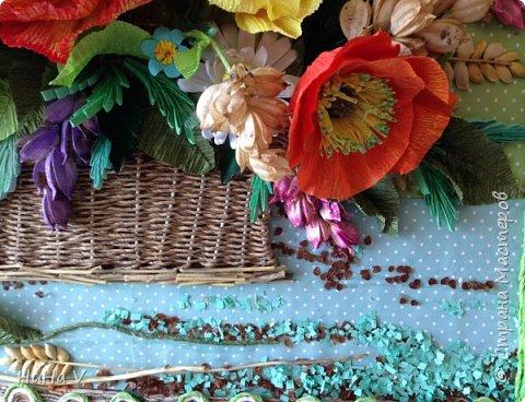 Корзинка с цветами  фото 11