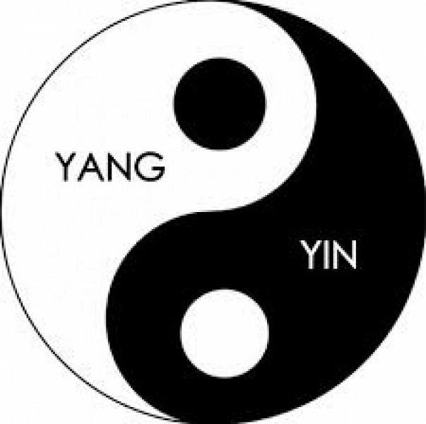 Моя новая импровизация - Инь-Янь мандала. Первая мандала которую я сделала в черно-белом цвете, но по контуру все же пустила немного радужного... :) Талисман Инь-Янь поможет восстановить утраченную гармонию и равновесие .  Немного о значении символа... Круг, в который заключены компоненты этого символа означает бесконечность всего существующего на Земле. Этот круг разделён волнистой линией на две абсолютно равные части. Волнистая, а не прямая линия создаёт эффект проникновения одной половинки в другую. Обе части влияют друг на друга, ведь увеличив одну часть пришлось бы уменьшать вторую. При этом, в каждой половинке находится малая толика противоположного цвета – точка. Подытоживая можно сказать, что Инь-Янь - это символ всего Мира, противоположности, которые в сочетании и во взаимодействии создают единое целое.  Со временем и с развитием различных философских течений люди наделяли этот символ всё большим количеством значений.  Так, считается что Инь-Янь – это мужское и женское начало, небо и земля, добро и зло.  Но смысл их остаётся один – баланс и гармония противоположностей.   фото 4