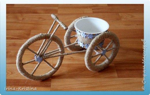велосипед-кашпо фото 1