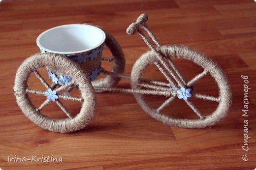 велосипед-кашпо фото 2