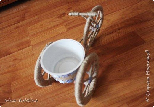 велосипед-кашпо фото 3