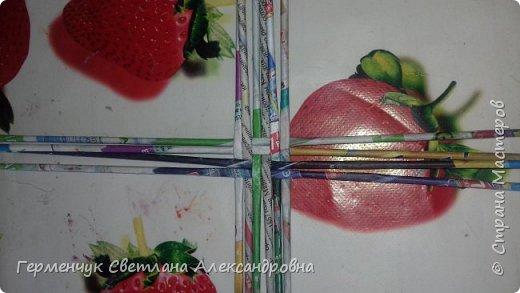 """Добрый день!!!  Сегодня представляю Вам  шкатулку """"Домовенок - оберег""""  из бумажных трубочек. фото 2"""