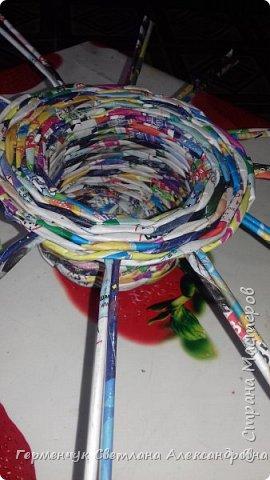 """Добрый день!!!  Сегодня представляю Вам  шкатулку """"Домовенок - оберег""""  из бумажных трубочек. фото 5"""