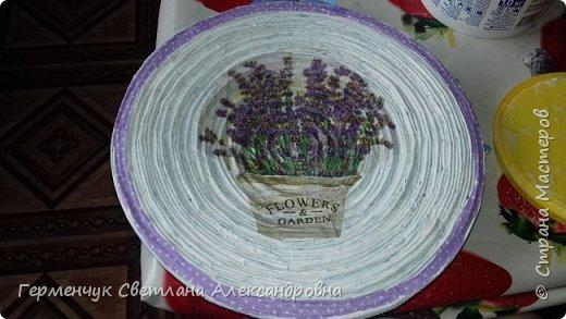 """Добрый всем  вечер!!! Представляю  вам  еще одну тарелочку """"Цветочный сад. Любовь"""" , чтобы была пара  Выполняла по предыдущему МК .   фото 4"""