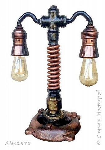 Лампа настольная фото 7