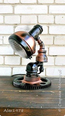 Лампа настольная фото 2