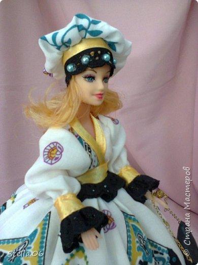 """Что то я в последнее время """"подсела"""" на кукол. Были в запасах ножницы, решила будет ПАРИКМАХЕР! фото 6"""