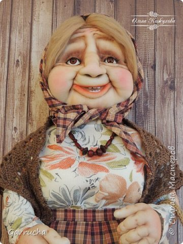 Приветствую всех жителей страны!  Знакомьтесь - Зинаида Аркадьевна,62 см. улыбчивости и доброты. фото 3