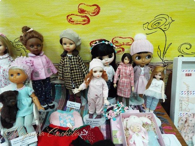 В воскресенье прошла моя вторая Выставка -Ярмарка : Планета кукол , которую я организовывала . Я со своими куколками . фото 7