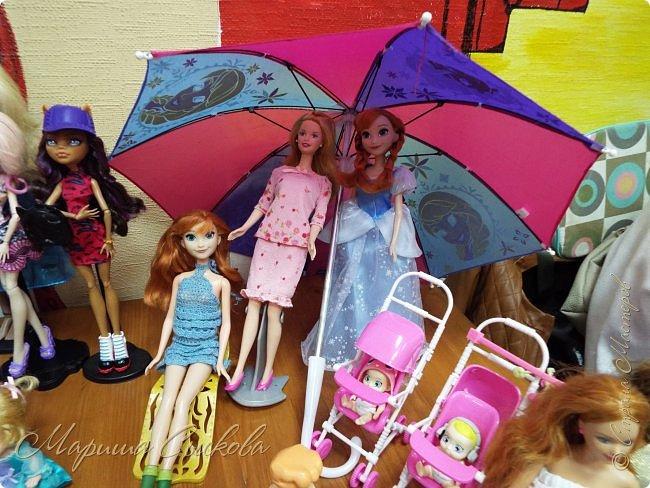 В воскресенье прошла моя вторая Выставка -Ярмарка : Планета кукол , которую я организовывала . Я со своими куколками . фото 27