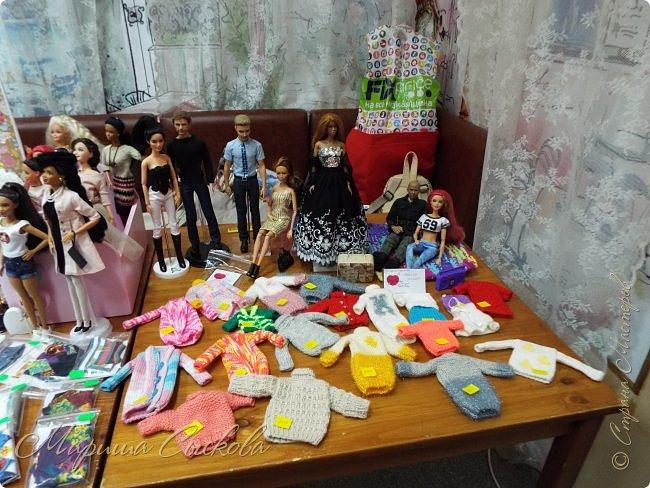 В воскресенье прошла моя вторая Выставка -Ярмарка : Планета кукол , которую я организовывала . Я со своими куколками . фото 28