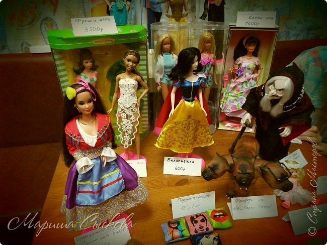 В воскресенье прошла моя вторая Выставка -Ярмарка : Планета кукол , которую я организовывала . Я со своими куколками . фото 38