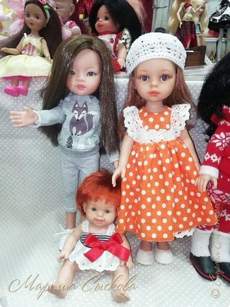 В воскресенье прошла моя вторая Выставка -Ярмарка : Планета кукол , которую я организовывала . Я со своими куколками . фото 56