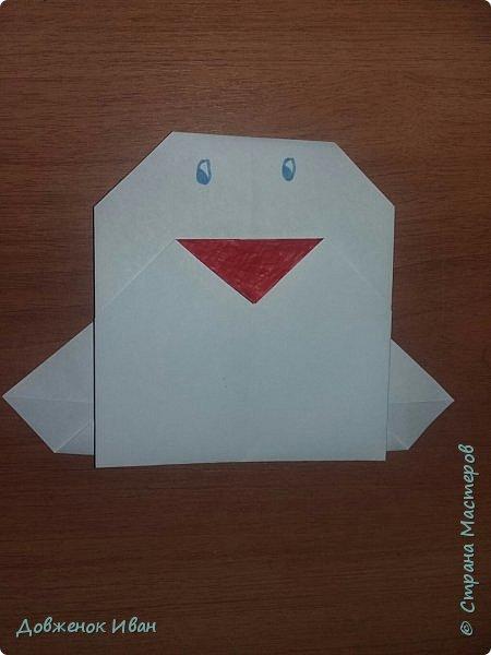 """Добрый день. Провёл мастер-класс по оригами для детей в возрасте от 3 года до 14 лет. Мероприятие называлось """"Пингвины без ангины"""".  Работы предназначены для раннего развития детей  Очень много было желающих сделать вот такое мороженное рожок.   Работы делаем по сложности изготовления 1)   фото 9"""