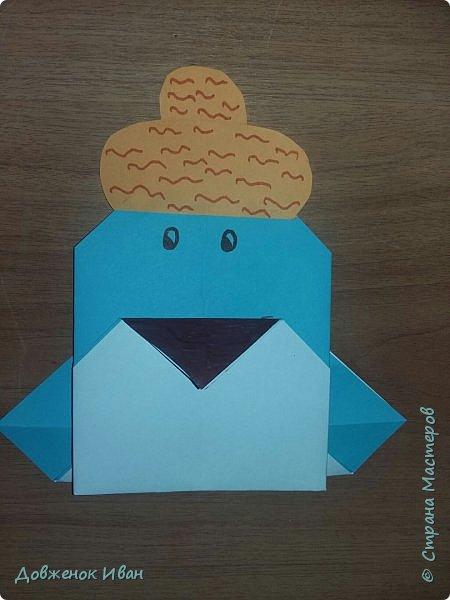 """Добрый день. Провёл мастер-класс по оригами для детей в возрасте от 3 года до 14 лет. Мероприятие называлось """"Пингвины без ангины"""".  Работы предназначены для раннего развития детей  Очень много было желающих сделать вот такое мороженное рожок.   Работы делаем по сложности изготовления 1)   фото 11"""
