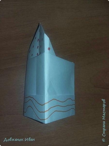 """Добрый день. Провёл мастер-класс по оригами для детей в возрасте от 3 года до 14 лет. Мероприятие называлось """"Пингвины без ангины"""".  Работы предназначены для раннего развития детей  Очень много было желающих сделать вот такое мороженное рожок.   Работы делаем по сложности изготовления 1)   фото 14"""