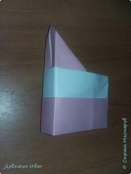"""Добрый день. Провёл мастер-класс по оригами для детей в возрасте от 3 года до 14 лет. Мероприятие называлось """"Пингвины без ангины"""".  Работы предназначены для раннего развития детей  Очень много было желающих сделать вот такое мороженное рожок.   Работы делаем по сложности изготовления 1)   фото 18"""