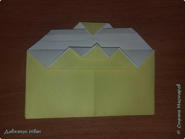 """Добрый день. Провёл мастер-класс по оригами для детей в возрасте от 3 года до 14 лет. Мероприятие называлось """"Пингвины без ангины"""".  Работы предназначены для раннего развития детей  Очень много было желающих сделать вот такое мороженное рожок.   Работы делаем по сложности изготовления 1)   фото 8"""