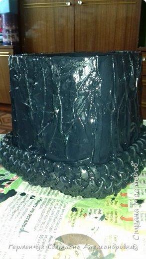 Всем  добрый вечер!!!  Сегодня я хочу показать  вам   изготовление кашпо . Мастер класс увидела у мастерицы Lucruri  Iscusite. фото 8