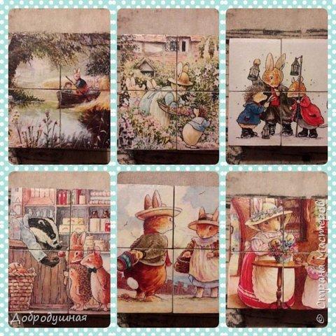 Декупаж. роспись, грунтованный текстиль, разное фото 2