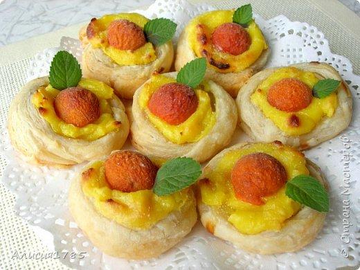 Абрикосовые гнезда с заварным кремом – нежный, вкусный и ароматный десерт к чаю!