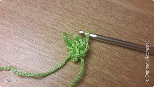 Здравствуйте, дорогие соседи! Я к вам с маленькой записью о вязании шнура крючком. Может кто-то это знает и умеет, а я поискала! А для кого-то это будет хорошей подсказкой. Если есть такая запись, свою удалю.  И так! Вяжем! фото 11