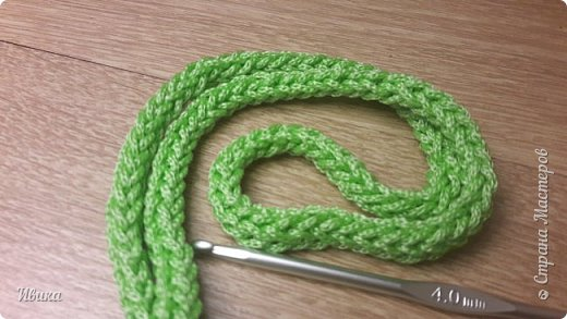Здравствуйте, дорогие соседи! Я к вам с маленькой записью о вязании шнура крючком. Может кто-то это знает и умеет, а я поискала! А для кого-то это будет хорошей подсказкой. Если есть такая запись, свою удалю.  И так! Вяжем! фото 15