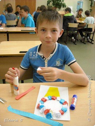 """Предлагаю Вам небольшой фото-отчёт детских работ в нашем школьном лагере """"ТОПОЛЁК"""" . Июнь так быстро пролетел, ребятам  и нам учителям не хотелось расставаться.  фото 3"""