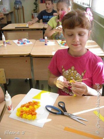 """Предлагаю Вам небольшой фото-отчёт детских работ в нашем школьном лагере """"ТОПОЛЁК"""" . Июнь так быстро пролетел, ребятам  и нам учителям не хотелось расставаться.  фото 4"""
