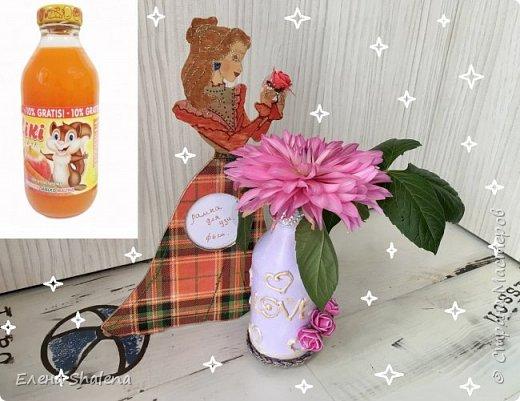 Декор бутылок с помощью клеевого пистолета  Сегодня я покажу как быстро можно задекорировать стеклянную бутылку с помощью горячего клея  Для работы нам понадобится: -стеклянная бутылка(у меня от сока Kiki) -спирт или ацетон -термоклей -сиреневая краска - эмаль декоративная акриловая-золото -декор Приятного просмотра!  Как я делала рамку для узи https://stranamasterov.ru/node/1149689  Другие видео как задекорировать бутылки: Ваза из пластиковой бутылки  https://stranamasterov.ru/node/1144864  Декор бутылки своими руками/Объемная техника  https://stranamasterov.ru/node/1141043  Декор стеклянной бутылочки. Вторая жизнь  https://stranamasterov.ru/node/1140522  Как покрасить соль своими руками. Декор маленькой бутылочки с пробкой  https://stranamasterov.ru/node/1137327             фото 1