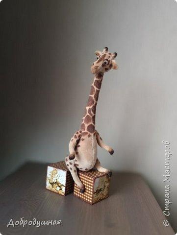 жираф сшит по выкройке Виктории Макаровой фото 3