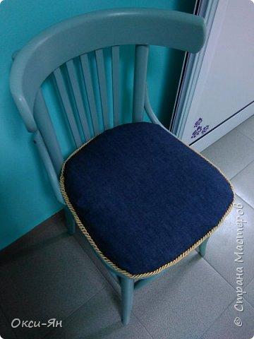 Забежала на минутку поделиться моими стульями в стоматологический кабинет.Там намечается ремонт и будут сменены стулья.Вот мне пришла в голову идея из старых,определенно уже не очень хороших сделать вот таких красавцев.Все восстановлено,можно даже прыгать на них фото 8