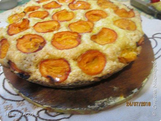 В этом году урожай абрикосов просто огромный ,я уже столько всего наделала....И вот решила пирог испечь пока не все абрикосы по банкам закрыла .Процесс не снимала,просто не до того было .всё делалось в авральном режиме. фото 4
