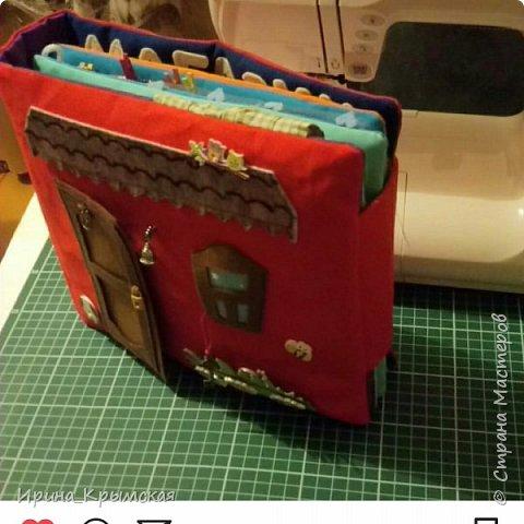 Кукольный домик из ткани и фетра  фото 1