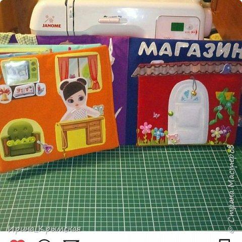 Кукольный домик из ткани и фетра  фото 5